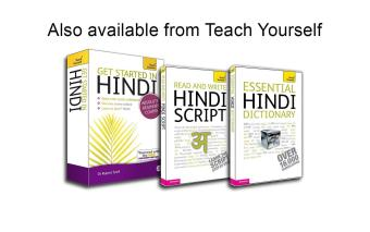 Harga Read And Write Hindi Script Teach Yourself