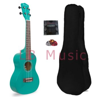 Harga Jasmine Concert Colored Ukulele Ukelele (Green)