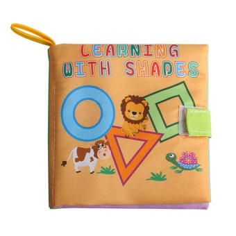 Harga Soft Cloth Book Infant Educational Toys Newborn Learning Book(geometry)