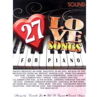 Harga 27 Love Song for Piano