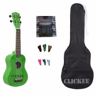 Harga Jasmine Concert Packaged Colored Ukulele (Green)