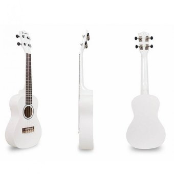 "Jasmine 21"" Colored Concert Size Ukulele (White) Price Philippines"