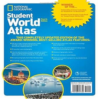 Harga National Geographic Student World Atlas