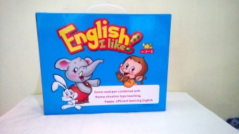 Harga English I like Book Set For Children (12 books) with Webster's Family Encyclopedia