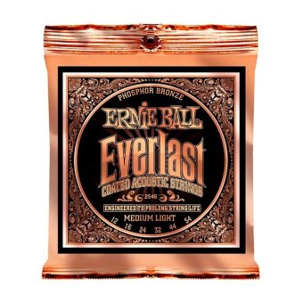Harga Ernie Ball 2546 Everlast Phosphor Medium Light Acoustic Guitar Strings
