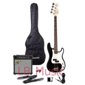 Thomson Electric Bass Guitar with 15watts Amp Package (Black) Price Philippines