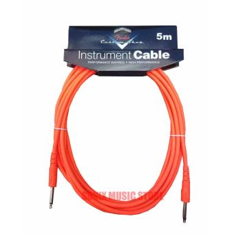 Harga Fender Performance Series Instrument Cables for electric guitar, bass guitar (Orange)