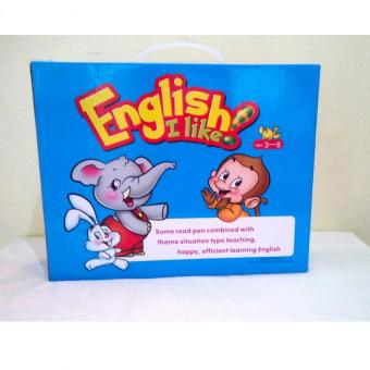 Harga English I like Book Set For Children (12 books)