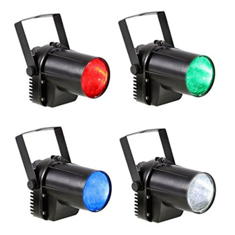 Harga 3-Watt Pin Spot Projection Lighting, RGBW 4-Color stage lighting