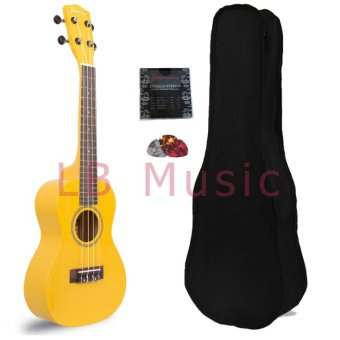 Harga Jasmine Concert Colored Ukulele Ukelele (Yellow)