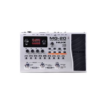 NUX MG-20 Floor Guitar Modeling Processor (Silver) Price Philippines