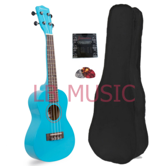 Harga Jasmine Concert Colored Ukulele Ukelele (Light Blue)