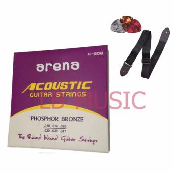 Harga Arena Acoustic guitar string Package