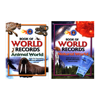 Harga WS Book of World Records Set of 2 (Natural & Animal World)