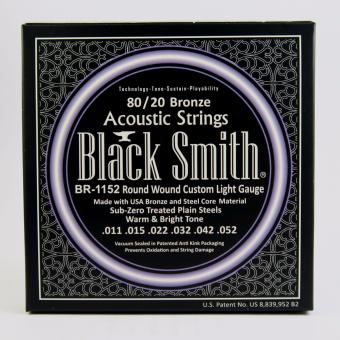 Black Smith BR-1152 Round Wound Custom Light Gauge Acoustic Guitar Strings Price Philippines