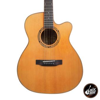 Harga Phoebus PG-40ce Solid Top OM Acoustic-Electric Guitar with Fishman Isys+