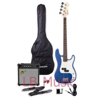 Thomson Electric Bass Guitar with 15watts amp Package (Blue) Price Philippines