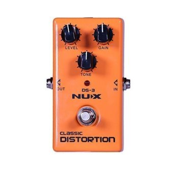 NUX DS-3 Distortion Guitar Pedal True Bypass with Classic & Blues Rock Tone Price Philippines