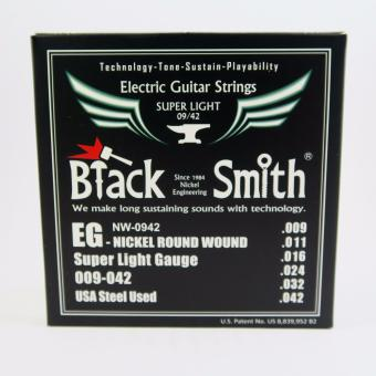 Black Smith NW-0942 Nickel Round Wound Super Light Gauge Electric Guitar Strings Price Philippines