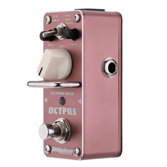 AROMA AOS-3 Octpus Polyphonic Octave Electric Guitar Effect Pedal Mini Single Effect with True Bypass Price Philippines