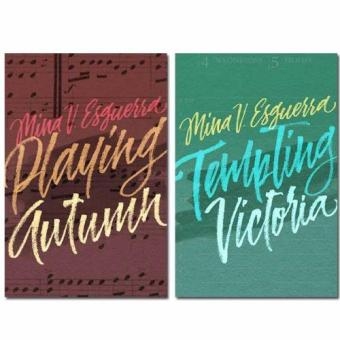 """Playing Autumn"" and ""Tempting Victoria"" by Mina V. Esguerra Price Philippines"