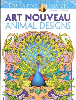 Harga Art Nouveau Coloring Book