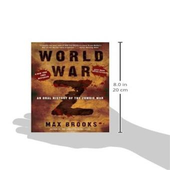 World War Z An Oral History Of The Zombie War Price Philippines