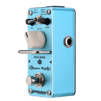 AROMA AOV-3 Ocean Verb Digital Reverb Electric Guitar Effect Pedal Mini Single Effect with True Bypass Price Philippines