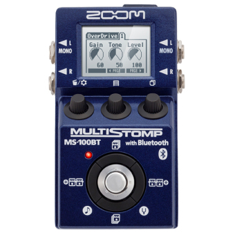 Harga Zoom MS-100BT Guitar Effects Pedal