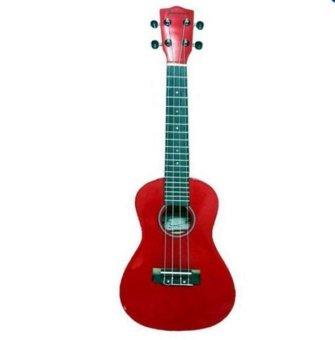 """JASMINE 21"""" Soprano Size Ukulele (Red)"""