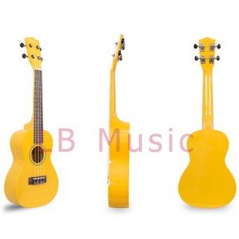 Jasmine Concert Colored Ukulele Ukelele (Yellow) - 3