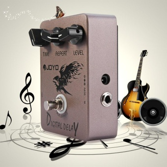 JF - 08 True Bypass Design Digital Delay Guitar Effect Pedal with 3 Adjustable Knobs - intl