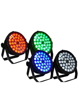 JollyChic 36 LED Flat Par Light Stage Lamp Colorful Romantic Party Stage DJ Light 110-220V-UK - intl