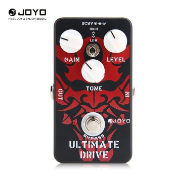 Joyo JF-02 Ultimate Drive Overdrive Electric Guitar Effect Pedal Black Red - 2