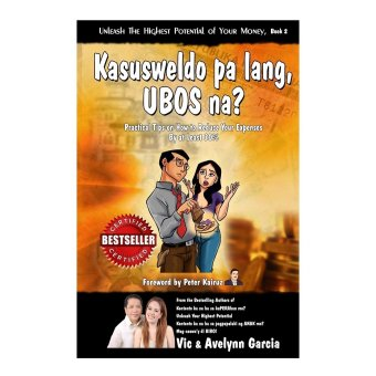 Kasusweldo Pa Lang Ubos Na? Book (Orange) by Vic and Avelynn Garcia