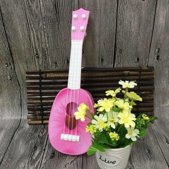 Kids Fruit Ukulele Ukelele Uke 4 Strings Small Guitar Musical Instrument Toy - intl