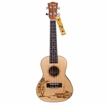"Kmise professional performance concert ukulele Hawaii guitar 23"" -intl Price Philippines"