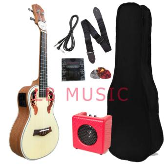 Knight Concert w/ portable belcat amplifier Complete packageUkulele ukelele Price Philippines