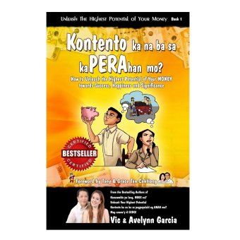 Kontento Ka Na Ba Sa KaPerahan Mo? Book (Orange) by Vic and Avelynn Garcia