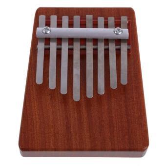 leegoal 8 Key Finger Piano Kalimba Mbira Likembe Sanza Thumb Piano(Red) - intl - 4