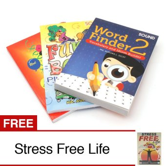Leisure Book Bundle of 3 with Free Stress Free Life Book