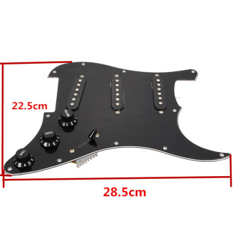 Loaded Prewired Pickguard Pearl For Fender Strat Guitar Replacement - picture 2