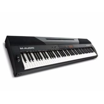 M-Audio Accent Digital Piano with 88 Hammer-Actions Keys, Built-InSpeakers