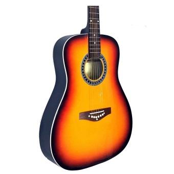 """Mactan 40"""" Acoustic Guitar (Sunburst) - 2"""