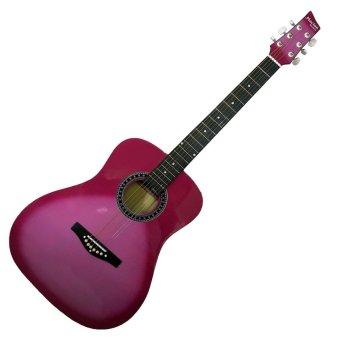 "Mactan 40"" Acoustic Guitar (Pink)"