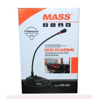 Mass Professional Table Desk Conference Condenser Microphone Micwith Switch and Adjustable Gooseneck microphone MS-352 - 2