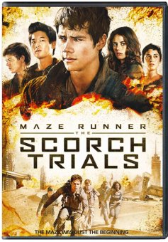 Maze Runner: The Scorch Trials DVD