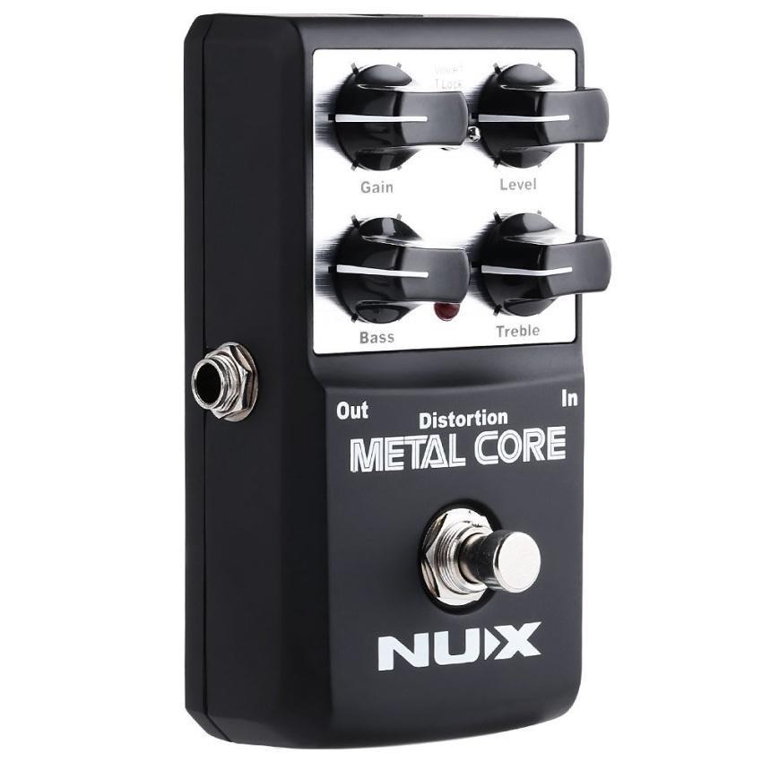 ... Metal Core Distortion Guitar Effect Pedal True Bypass DesignwithAluminum Alloy Housing 2 Band Eq Tone ...