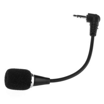 Mini Audio Microphone Mic for PC Laptop Notebook 3.5MM Flexible Black Price Philippines