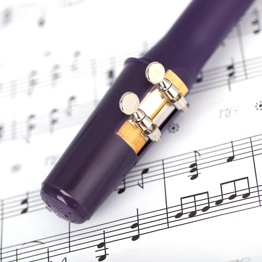 Mini Saxophone Sax Xaphoon Pocket Saxophone Eb Plastic withLigature Reed Music Score Gig Bag - Intl ...